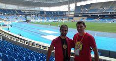 Técnico de atletismo da FME de Timbo, Sidney Reinhold, participará das Paralimpíadas do Rio | Portal Timbó Net