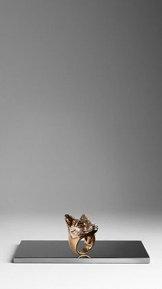 Metal Fox Ring | Burberry