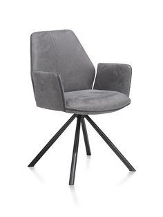 Der Armlehnstuhl Kane von xooon bietet besten Sitzkomfort und überzeugt durch schickes Design. Living Room Furniture, Loft, Chair, Frame, Design, Home Decor, Silver Ash, Cantilever Chair, Dinner Table