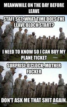 Haha surprise o clock