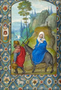 Flight into Egypt Book of Hours, in Latin | Illuminated by Simon Bening (1483/84-1561) | Belgium, Bruges | ca. 1520 | The Morgan Library & Museum