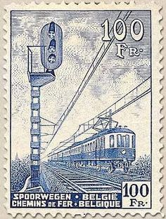 Railway Stamp: Railway Car
