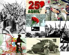 Vendredi 25 avril 2014 - Révolution des oeillets - 25 avril 1974.