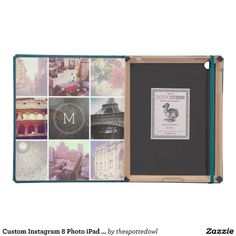 Custom Instagram Keepsake 8 Photo iPad 2 / 3 / 4 Case #with #your #personalized #photos #pics #pic #monogram #cases #covers #cover #gift #gifts