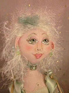 Cloth Art Doll - Jasmine