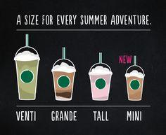 New Starbucks Frappuccino Size   The Mini Frappuccino!