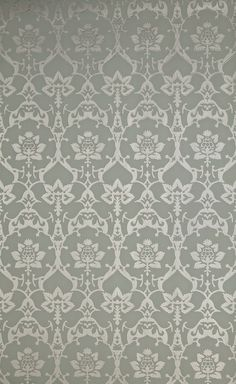 Brocade wallpaper by Farrow & Ball