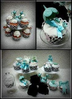 Cupcake tema Tiffany pasticceria Dece via Calefati 93 Bari