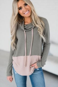 Neapolitan Cowl Sweater #fashionhoodie