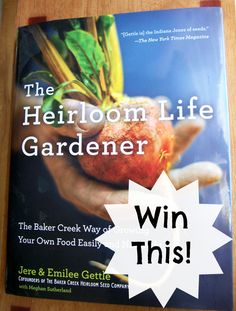 This practical reference book is pretty enough to be a coffee-table book.  Written by Jere and Emiliee Gettle, co-founders of Baker Creek Heirloom Seeds (http://rareseeds.com/) it would be a valuable addition to any homesteader's library.