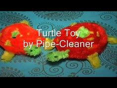 DIY Turtle by Pipe Cleaner Sticks for Kids & Decoration