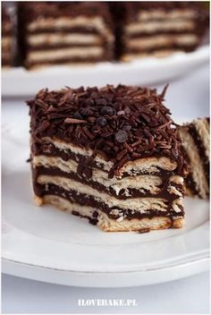 Zdjęcie: Ciasto czekoladowe bez pieczenia Breakfast Recipes, Dessert Recipes, Desserts, Cheesecake Pops, Keto Recipes, Cooking Recipes, Love Food, Food Porn, Food And Drink