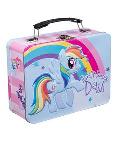 Look what I found on #zulily! My Little Pony Rainbow Dash Lunch Box by My Little Pony #zulilyfinds