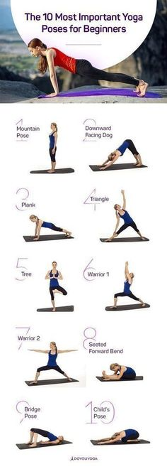 The 10 Most Important Yoga Poses for . - # Beginners # for The 10 Most Important Yoga Poses for Beginners, The 10 Most Important Yoga Poses for . - Pictures + Bilder+ bilderplus Yoga The 10 Most Important Yoga Poses for . Yoga Positionen, Yoga Pilates, Yoga Meditation, Yoga Flow, Namaste Yoga, Pilates Poses, Meditation Pillow, Yoga Art, Yoga Inspiration