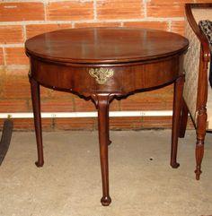 George I Mahogany Game Table