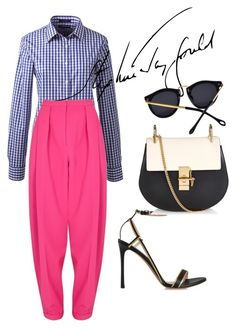 """""""brisbane"""" by omahtawon ❤ liked on Polyvore featuring Lands' End, Roksanda, Valentino and Chloé"""