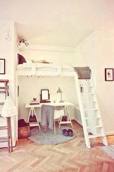 Space saving, cute and functional.