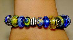 Ispirato all'universo, questa è l'ispirazione di una nostra cara amica!  A friend of us has been inspired by the universe...That's her bracelet!