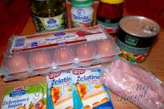 Vajíčková tlačenka - krok za krokem | NejRecept.cz Salama, Soap, Bottle, Author, Flask, Bar Soap, Soaps, Jars