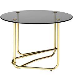 Mategot Lounge Table, smoked glass