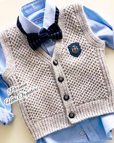98d5e07c9 Free knitting pattern for Junior V-Neck baby vest - Size  1 3 – 6 9 ...
