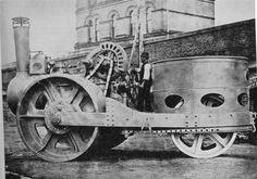 Mining Equipment, Heavy Equipment, Road Transport, Road Train, Work Horses, Steel Wheels, Steam Engine, Chevy Trucks, Locomotive