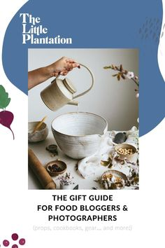 Whether you're looking to buy a gift for yourself (#selflove) or for someone you adore who is obsessed with food photography and food styling, this gift guide is for you! I've tried to focus mainly on smaller businesses, gifts that will enhance any food photo and instagram gallery, as well as items that support creativity as well as productivity and business growth. Food Photography Course, Food Photography Props, Book Photography, Photography Tutorials, Vegan Magazine, Best Cookbooks, Light Recipes, Creative Food, Food Styling