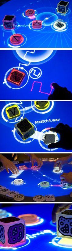 HIGH-TECH >>> Reactable live par Reactable système - Journal du Design