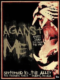 Whoo! Against me! will be the first show of 2014! Great start to the year :D