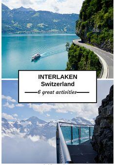 Interlaken, 6 activities, Jungfrau, Schilthorn, paragliding, Brienz, Giessbach, Switzerland, Schweiz, Swiss Bliss Travel