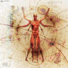 My take on Vitruvian Man by James Alan Smith