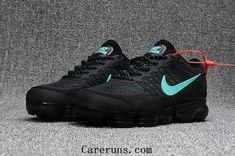 new concept f6b90 9253e Nike Air Vapormax 2018.3 KPU Black Jade Men Sneakers