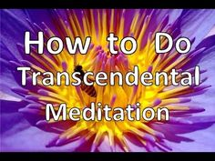 Learn Transcendental Meditation free step by step, including the secret mantra that they pretend is unique to your personality. https://www.youtube.com/watch?v=yWLiJkSMjy0