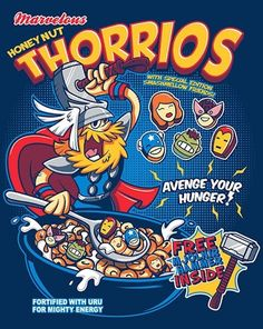 These Cereals Based On Comic Book Characters Are Awesome