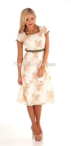 The Camille Modest Dress: Church Dresses, Vintage Dresses, Modest Clothing