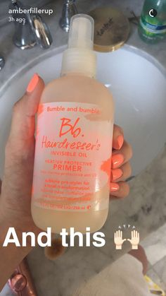 Amber Fillerup hair products