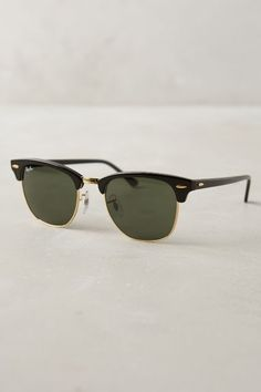 Ray-Ban Clubmaster Sunglasses #anthrofave