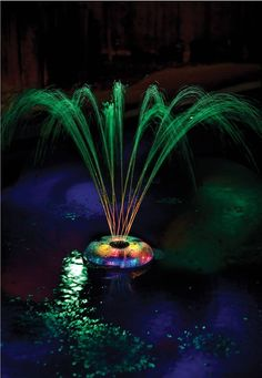 Swimming Pool Led Lights Fountain Solar Underwater Light Show Floating Pool Spa Unbranded Pool Fountain Swimming Pool Decorations Fountain Lights