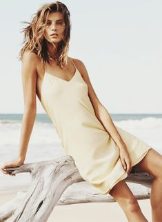 Daria Werbowy by Josh Olins for Mango Summer 2014 :: This is Glamorous