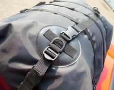 close up of bootbag boot luggage rack