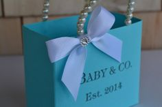 Tiffany blue inspired party favor bags by steppnout on Etsy, $5.00