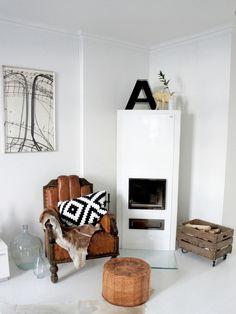 wooden crate. caja de madera. leña. decoración. vintage. nordic. scandinavian. style. estilo escandinavo. nórdico. boho. www.yourbox.bigcartel.com