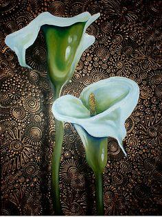 Arum Lilies by Cherie Roe Dirksen