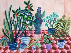Botanical artist Laura Garcia Serventi paints her childhood memories.