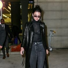 Model Kendall Jenner arrives in to Paris ahead of Fashion Week (327505)