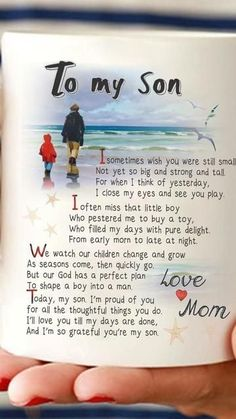 To My Son quotes family quote parents family quotes children son son quotes Son Quotes From Mom, Mother Son Quotes, Mommy Quotes, Quotes For Kids, Me Quotes, Quotes Children, Mother To Son, Quotes About Sons, Love My Son Quotes