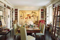 #Home #Library #Bookshelf #Design Photos | #Architectural Digest | #Asta Boutique #Interiors