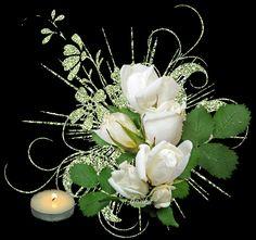 fehér rózsák mécsessel.gi