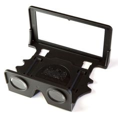 London Stereoscopic Company - OWL Stereoscopic Viewer (Black) + Instructional Card Wallet