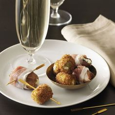Cheese-Stuffed Dates With Prosciutto